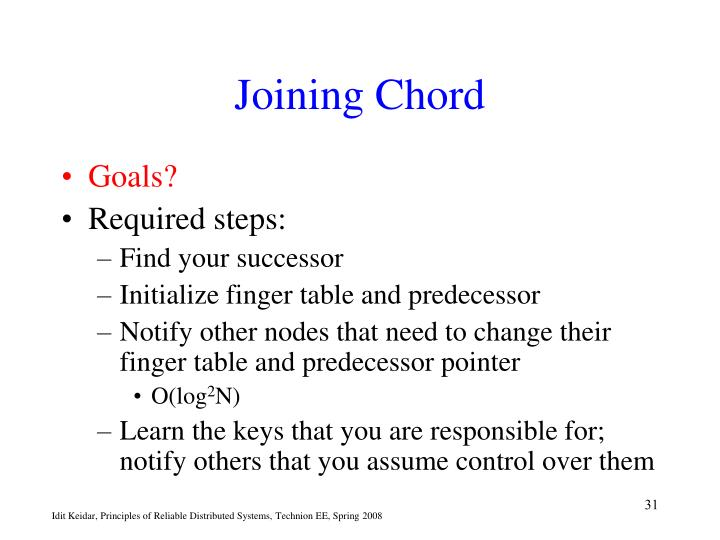 Joining Chord