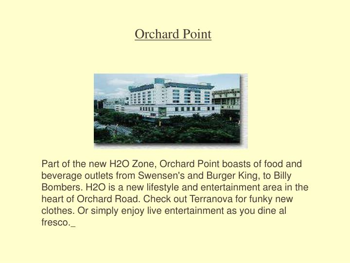 Orchard Point