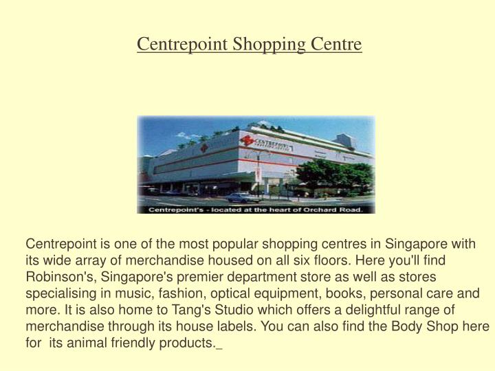 Centrepoint Shopping Centre
