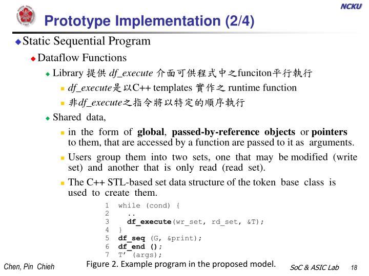 Prototype Implementation (2/4)
