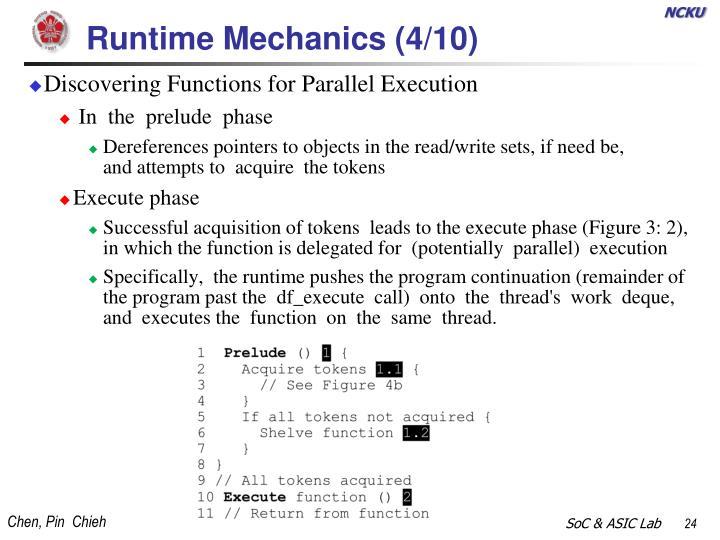 Runtime Mechanics (4/
