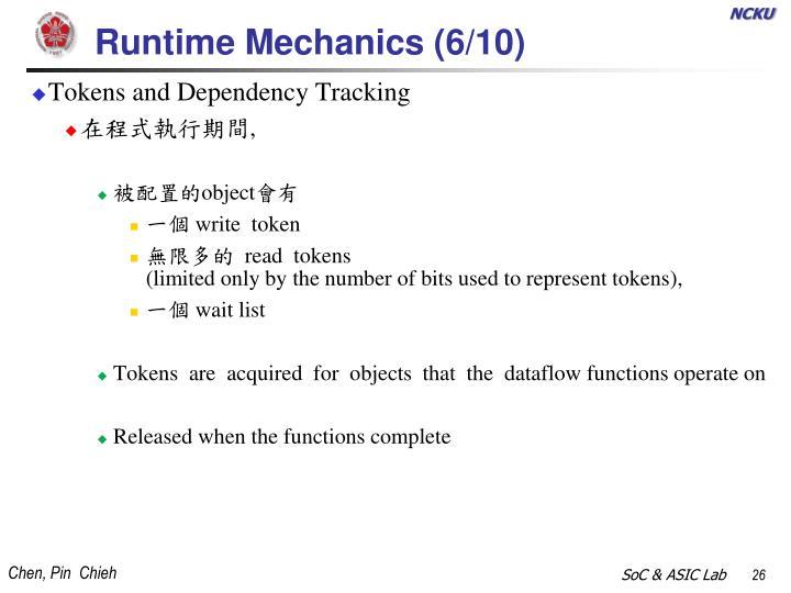 Runtime Mechanics (6/