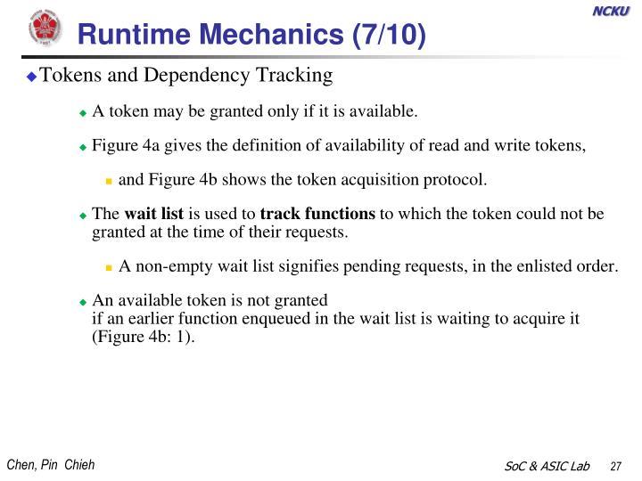 Runtime Mechanics (