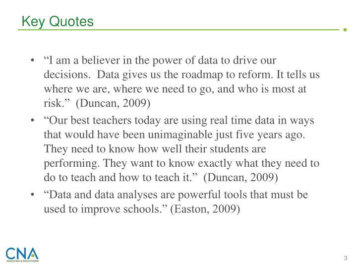 Key Quotes