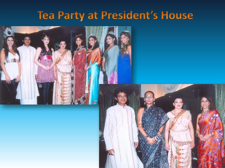 Tea Party at President's House