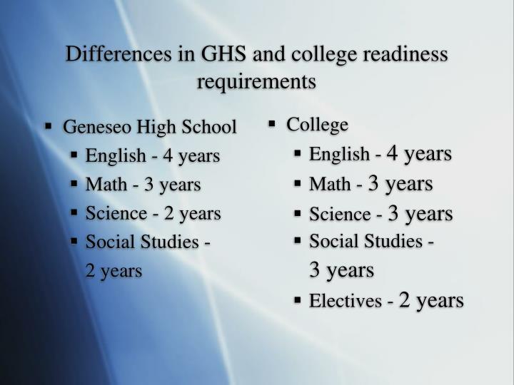 Geneseo High School