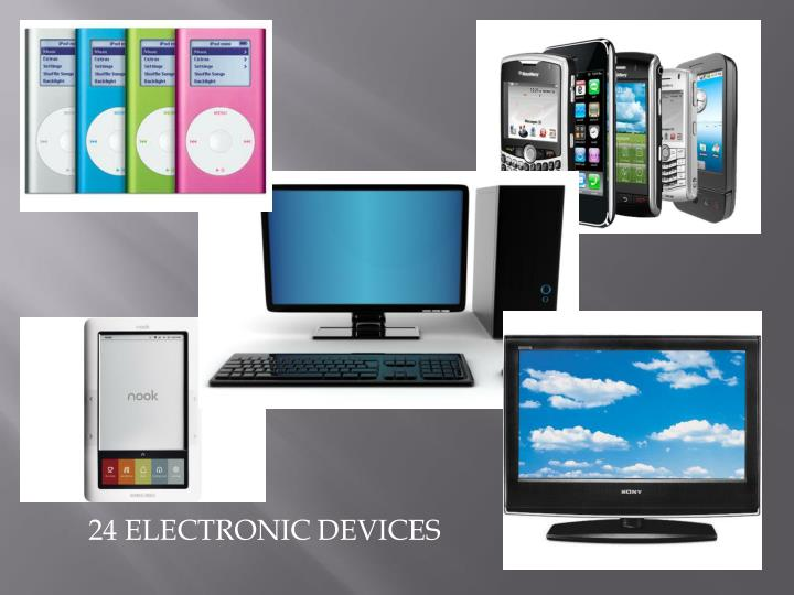24 ELECTRONIC DEVICES
