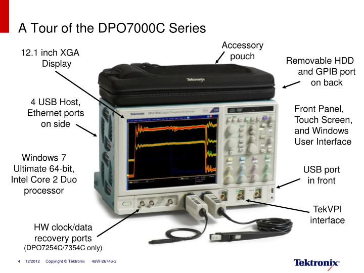A Tour of the DPO7000C Series