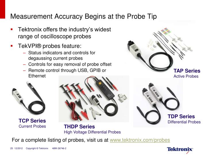 Measurement Accuracy Begins at the Probe Tip