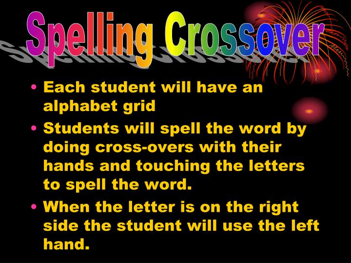 Spelling Crossover