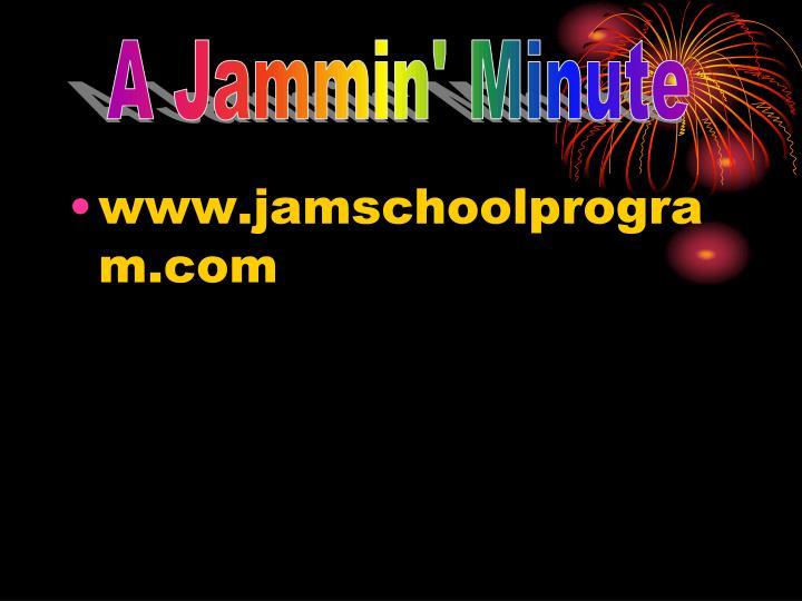 A Jammin' Minute