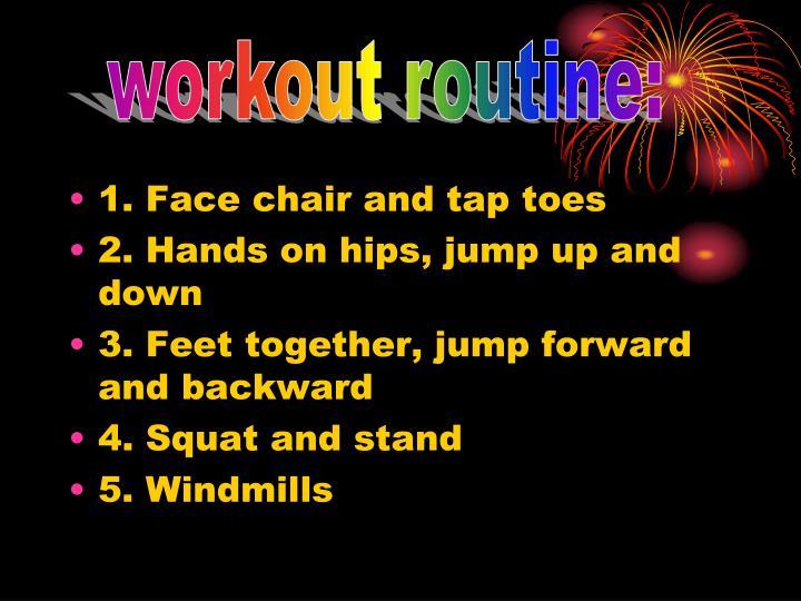 workout routine: