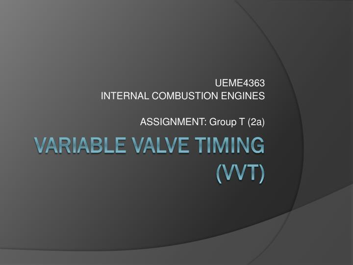 ueme4363 internal combustion engines assignment group t 2a
