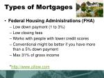 types of mortgages3
