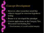 concept development1