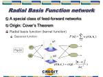 radial basis function network