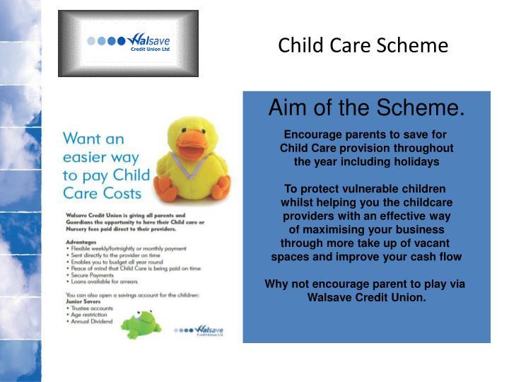 Child Care Scheme