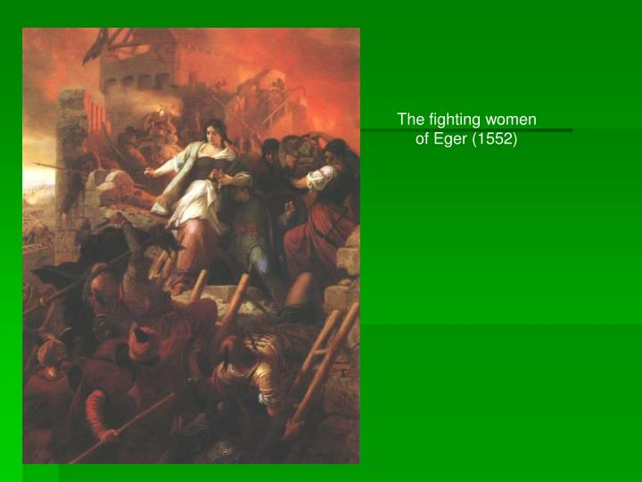 The fighting women