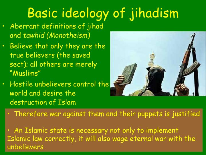 Basic ideology of jihadism