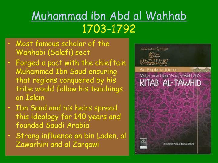Muhammad ibn Abd al Wahhab