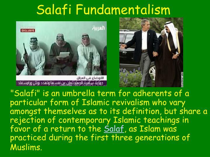 Salafi Fundamentalism