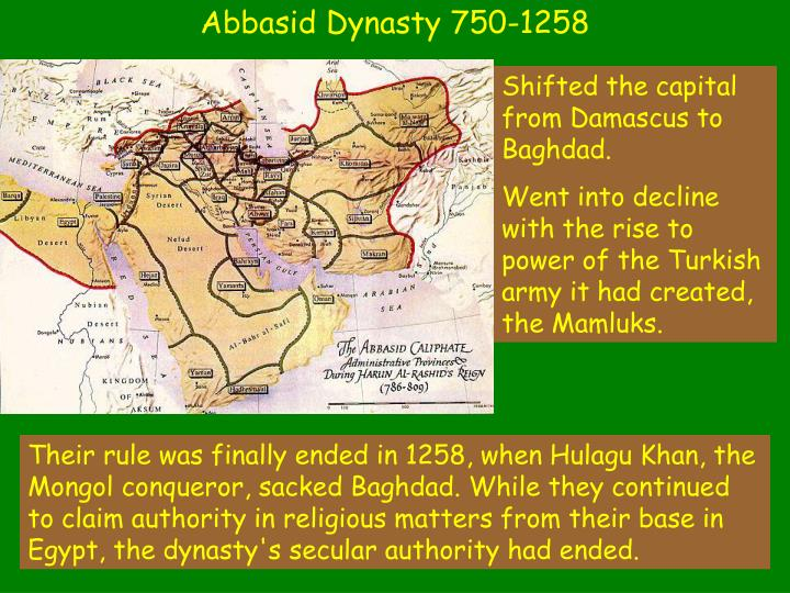 Abbasid Dynasty 750-1258