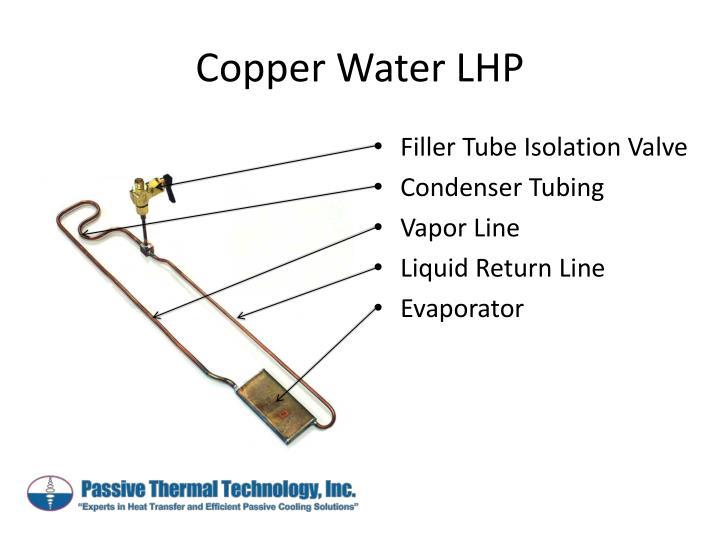 Copper Water LHP
