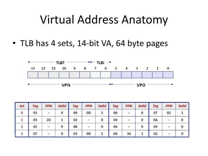 Virtual Address Anatomy