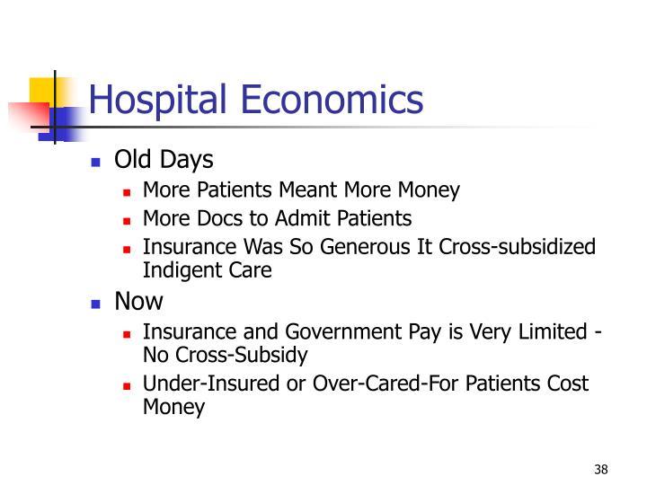 Hospital Economics