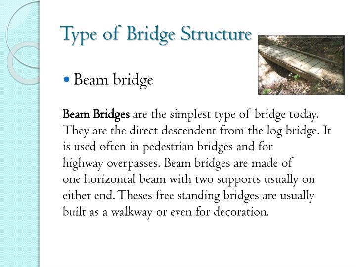 Type of Bridge Structure