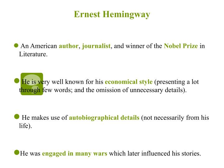 a literary analysis of the cat in the rain by ernest hemingway A summary of chapter x in ernest hemingway's in our time learn exactly what happened in this chapter, scene, or section of in our.
