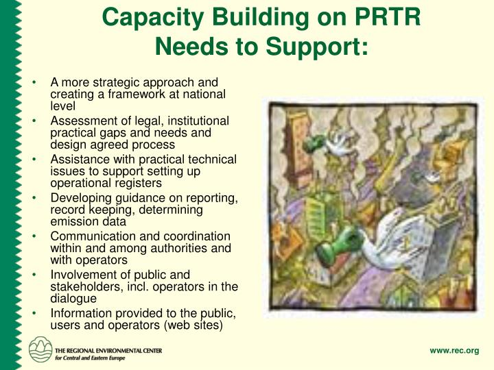 Capacity Building on PRTR