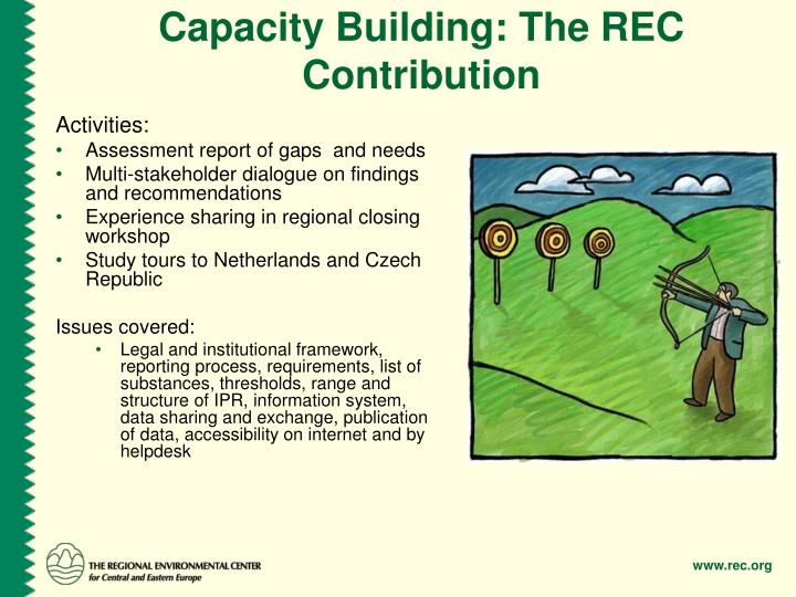 Capacity Building: The REC Contribution