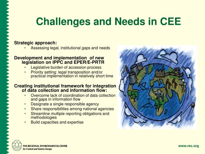 Challenges and Needs in CEE