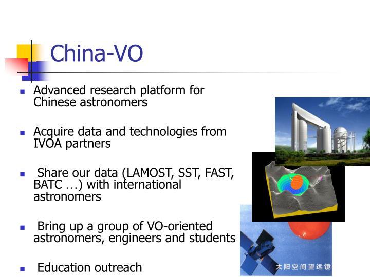 China-VO