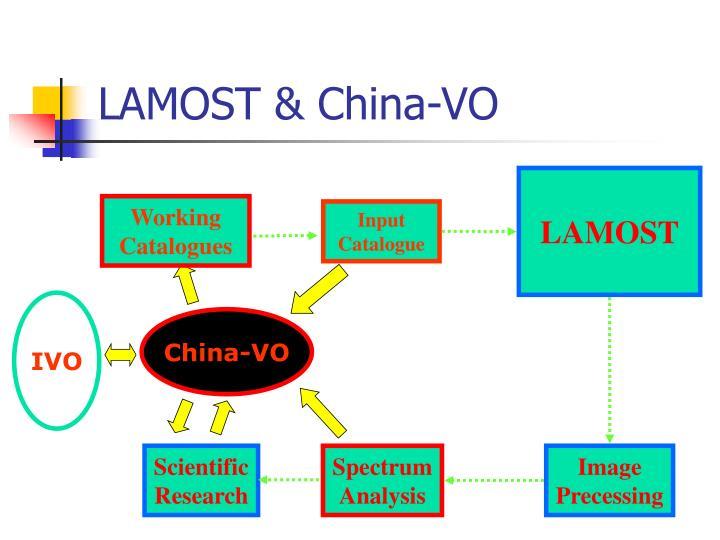 LAMOST & China-VO