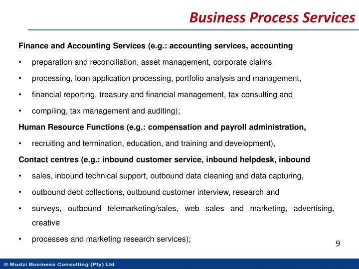 Business Process Services