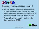 lecturer responsibilities part 1