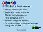 sfbb helps businesses