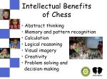 intellectual benefits of chess