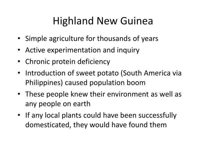 Highland New Guinea