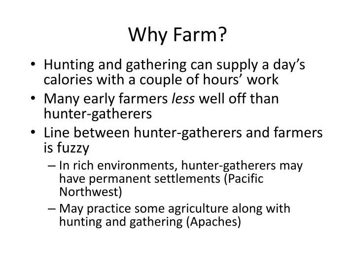 Why Farm?