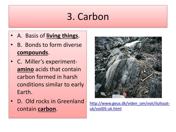 3. Carbon