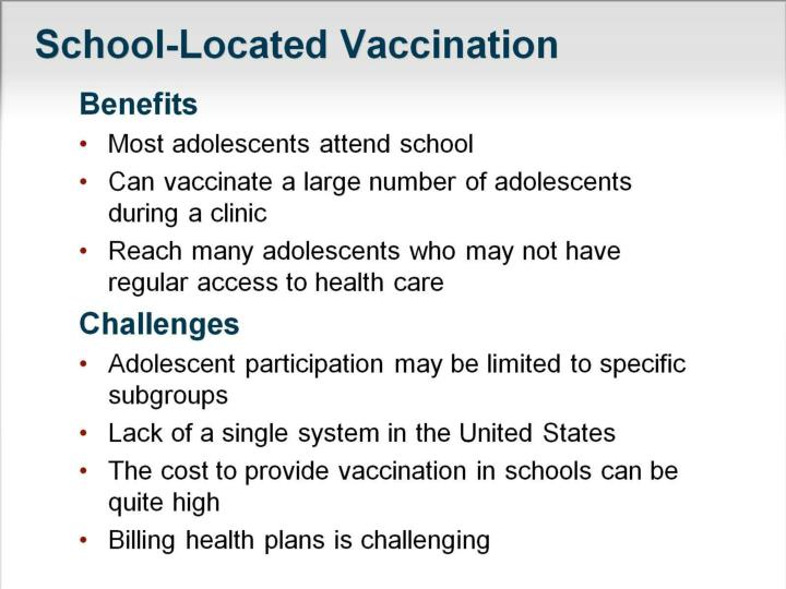 School-Located Vaccination