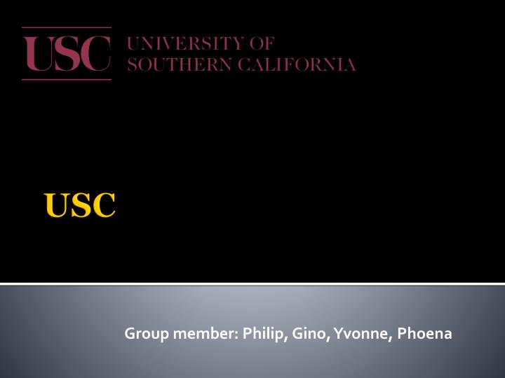 Group member philip gino yvonne phoena