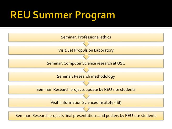 REU Summer Program