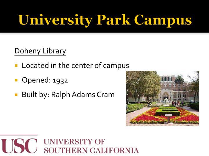 University Park Campus