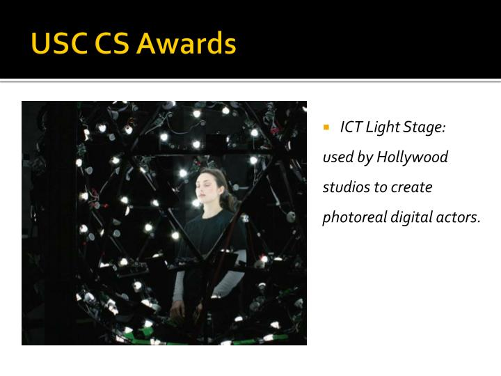 USC CS Awards