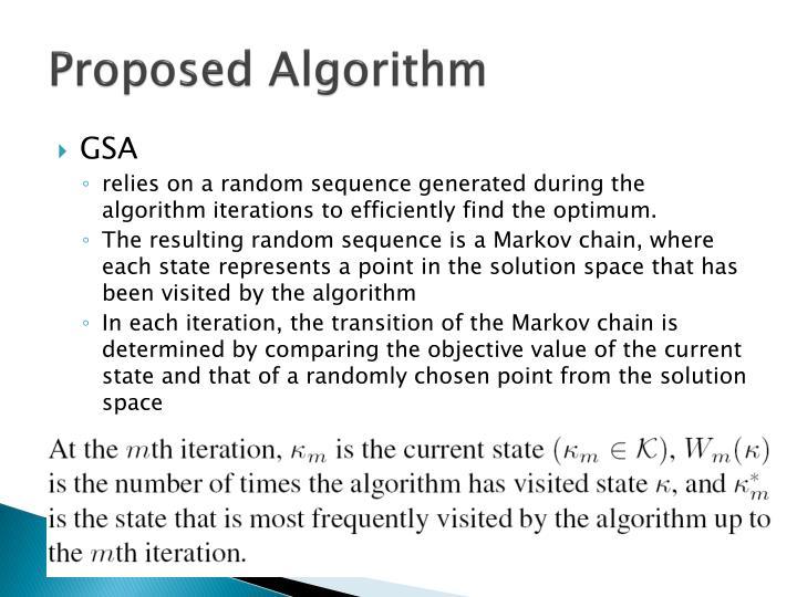 Proposed Algorithm