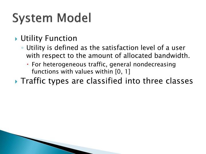 System Model